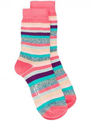 Носки в полоску Paul Smith. Цвет: розовый
