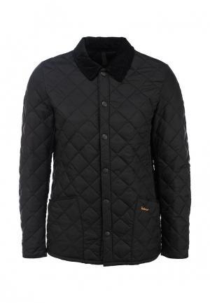 Куртка утепленная Barbour. Цвет: черный