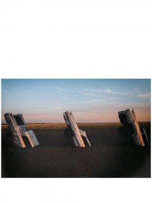 Постер A4 с принтом Acne Studios. Цвет: синий
