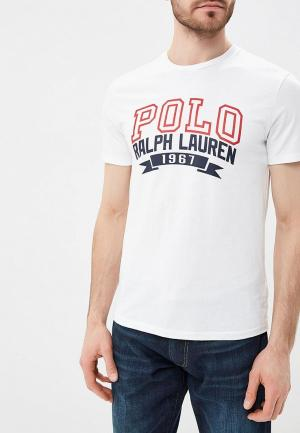 Футболка Polo Ralph Lauren. Цвет: белый