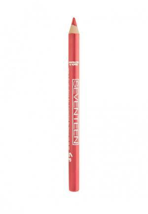 Карандаш для губ Seventeen. Цвет: розовый