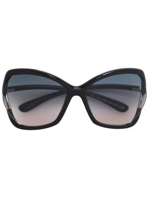 Солнцезащитные очки Astrid 02 Tom Ford Eyewear. Цвет: черный
