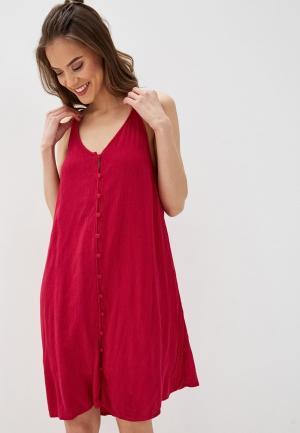Сарафан Roxy. Цвет: бордовый