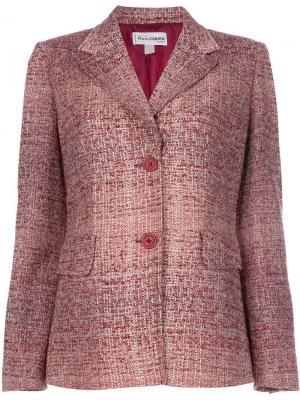 Пиджак букле Pierre Cardin Vintage. Цвет: красный