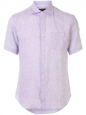 Durban рубашка с короткими рукавами D'urban. Цвет: фиолетовый