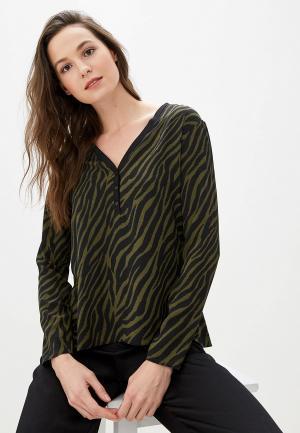 Блуза adL. Цвет: хаки