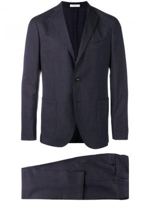 Two piece suit Boglioli. Цвет: синий