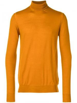 Водолазка по фигуре Paolo Pecora. Цвет: оранжевый