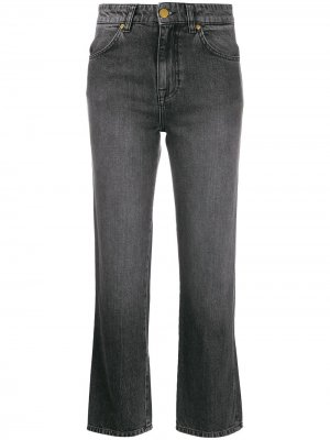Расклешенные джинсы Victoria Beckham. Цвет: серый