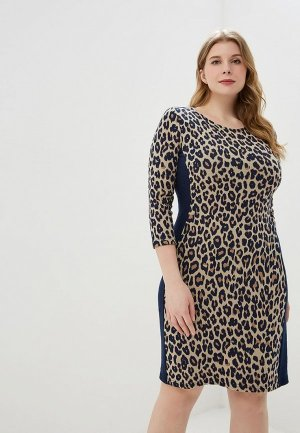 Платье Betty Barclay. Цвет: коричневый