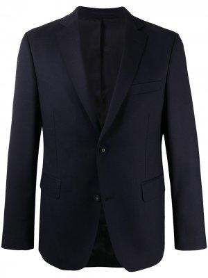 Однобортный пиджак Officine Generale. Цвет: синий