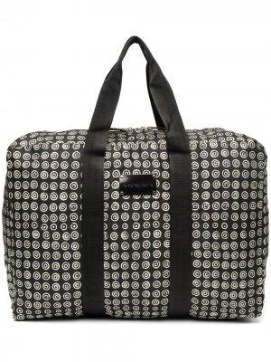 Дорожная сумка с геометричным принтом 10 CORSO COMO. Цвет: черный
