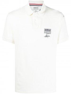 Рубашка поло B.Intl Steve McQueen Barbour. Цвет: белый