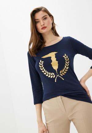 Лонгслив Trussardi Jeans. Цвет: синий