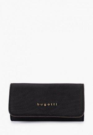 Кошелек Bugatti. Цвет: черный