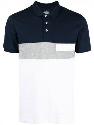 Рубашка поло со вставками Colmar. Цвет: синий