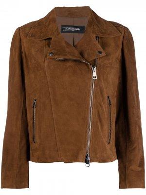 Куртка Ines с бахромой Simonetta Ravizza. Цвет: коричневый