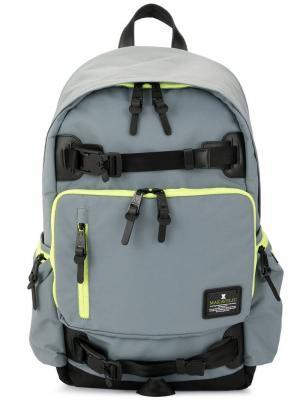 Рюкзак на молнии Jade B.U. Evolution Makavelic. Цвет: серый