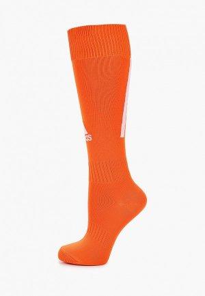 Гетры adidas. Цвет: оранжевый