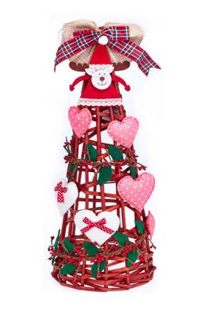 Декоративная дизайнерская елка DUE ESSE CHRISTMAS. Цвет: коричневый