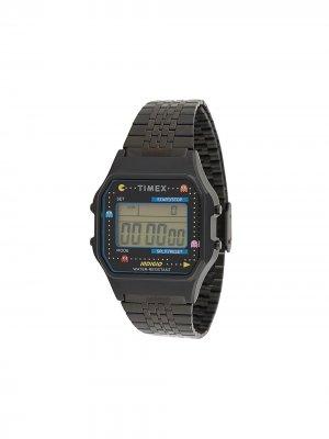 Наручные часы T80 Pac-Man 34 мм TIMEX. Цвет: черный