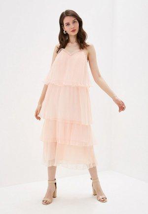 Платье True Decadence. Цвет: коралловый