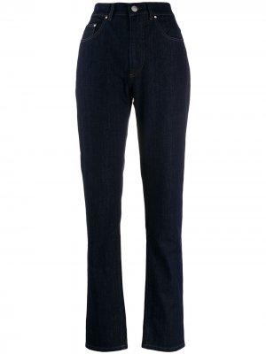 Зауженные джинсы с завышенной талией Katharine Hamnett London. Цвет: синий