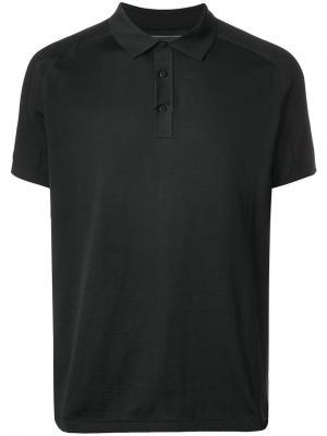 Рубашка-поло с принтом логотипа Napapijri. Цвет: черный