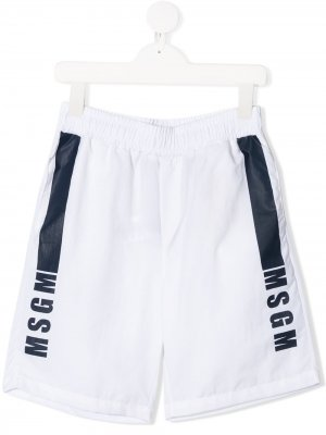 MSGM KIDS 022609 001 Polyamide. Цвет: белый