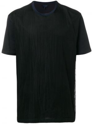 Базовая футболка Lanvin. Цвет: черный