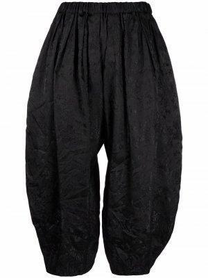 Укороченные брюки Comme Des Garçons. Цвет: черный