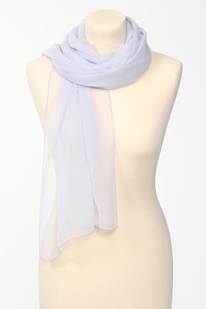 Палантин Groupe JS. Цвет: серый