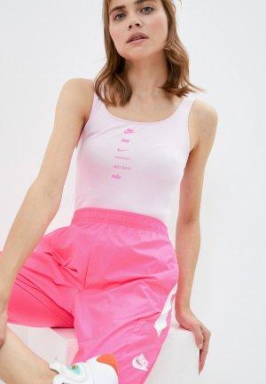 Боди Nike. Цвет: розовый