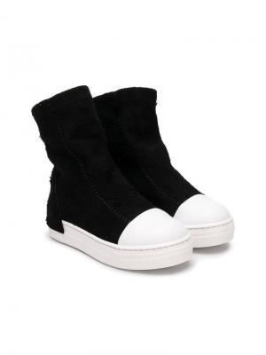 Softy ankle boots Cinzia Araia Kids. Цвет: черный