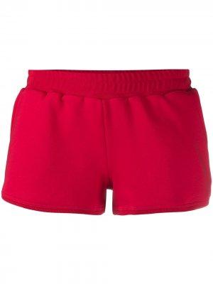 Короткие шорты из джерси Styland. Цвет: красный