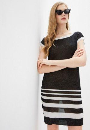 Платье пляжное Liu Jo. Цвет: черный