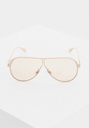 Очки солнцезащитные Christian Dior. Цвет: розовый