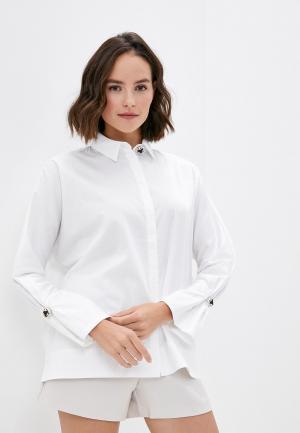 Рубашка Love Republic. Цвет: белый