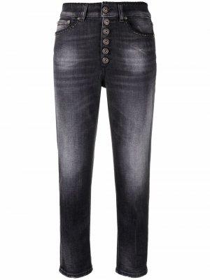 Укороченные джинсы Dondup. Цвет: черный