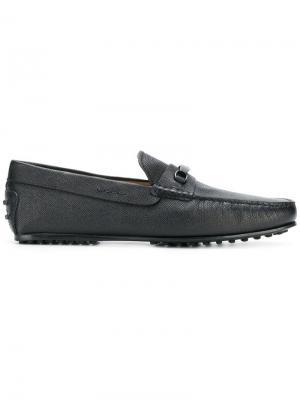 Gommino loafers Tod's. Цвет: черный
