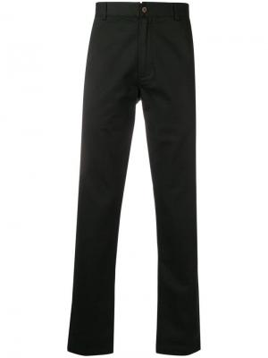 Aston straight-leg trousers Universal Works. Цвет: черный