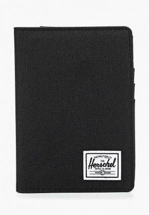 Обложка для паспорта Herschel Supply Co. Цвет: черный
