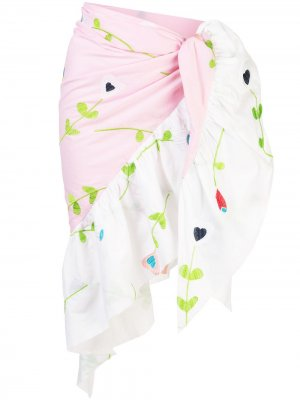 Саронг Marea с вышивкой Cynthia Rowley. Цвет: розовый