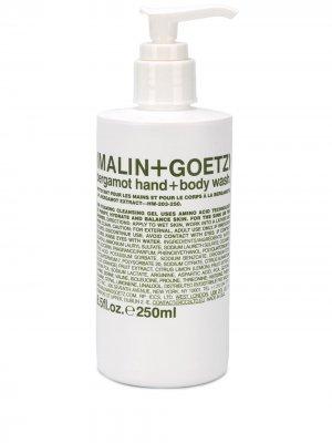 Гель для тела и рук Bergamot MALIN+GOETZ. Цвет: белый