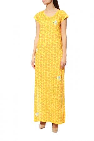 Платье Ultrachic. Цвет: желтый