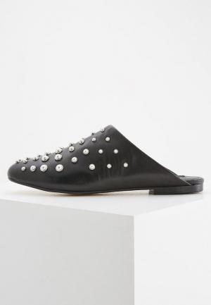 Сабо DKNY. Цвет: черный