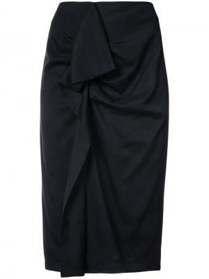 High-waisted skirt Carven. Цвет: черный
