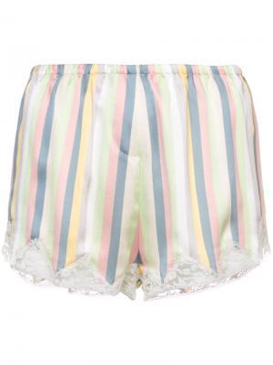 Пижамные шорты Josephine Morgan Lane. Цвет: розовый