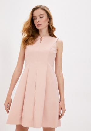 Платье DKNY. Цвет: бежевый