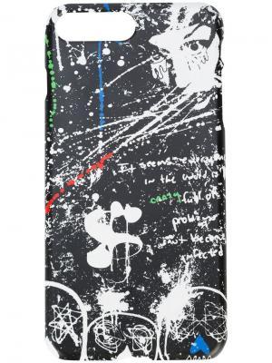 Чехол для телефона с принтом Haculla. Цвет: черный